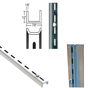 0.5'' Slot Heavy Duty Wall Standards & Accessories