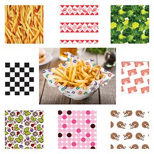 Food Wax Paper | Basket Liner