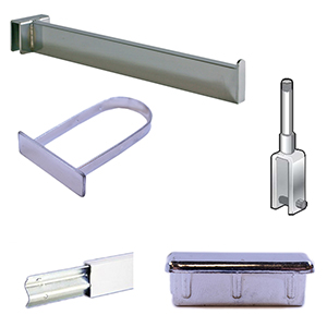 Merchandising Bars; Hangrod & Cross Bars