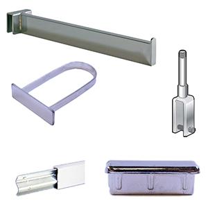 Merchandising Bars; Hangrod & Cross Bars