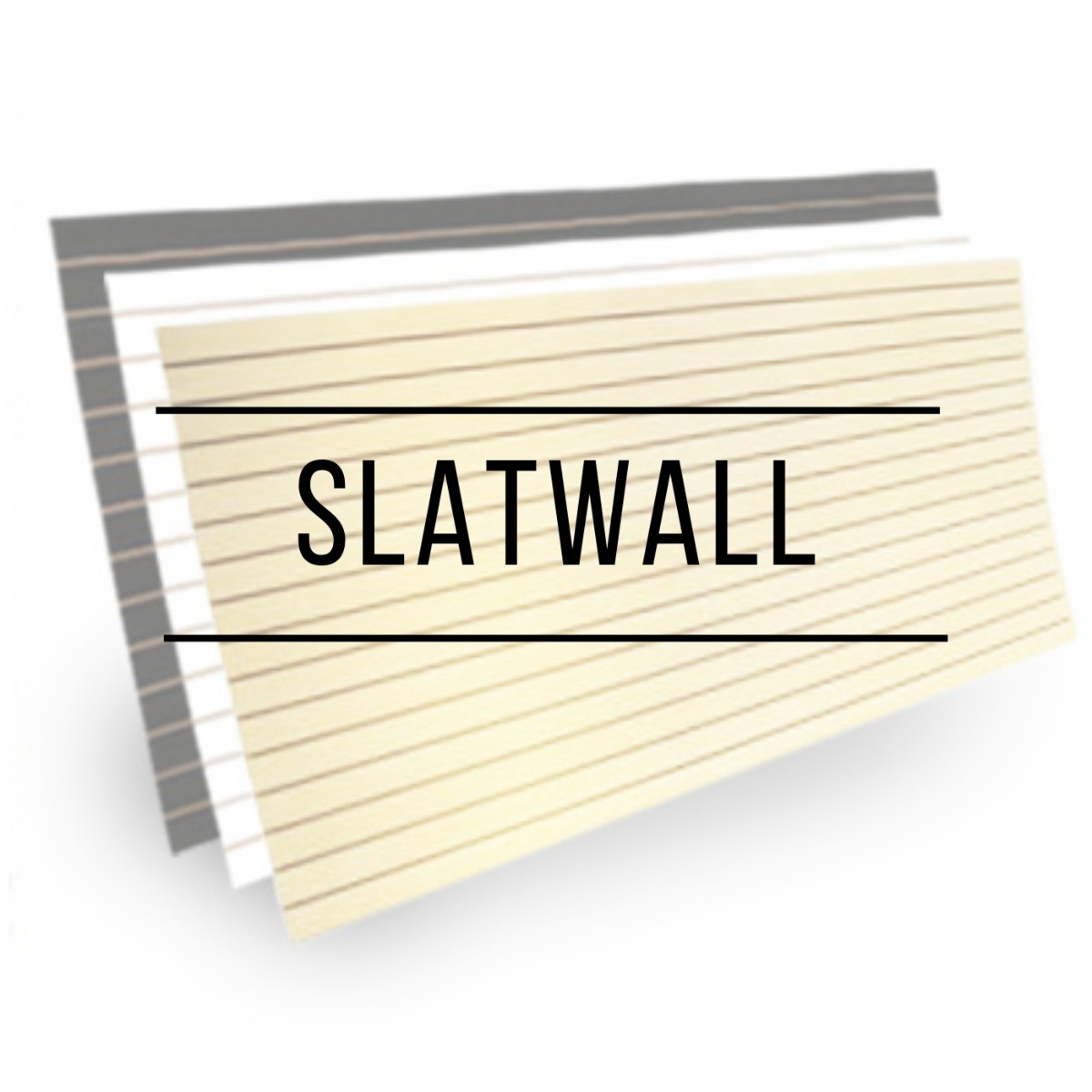 Slatwall adds characters to any Hawaii store with our black, cedar and maple Slatwall.