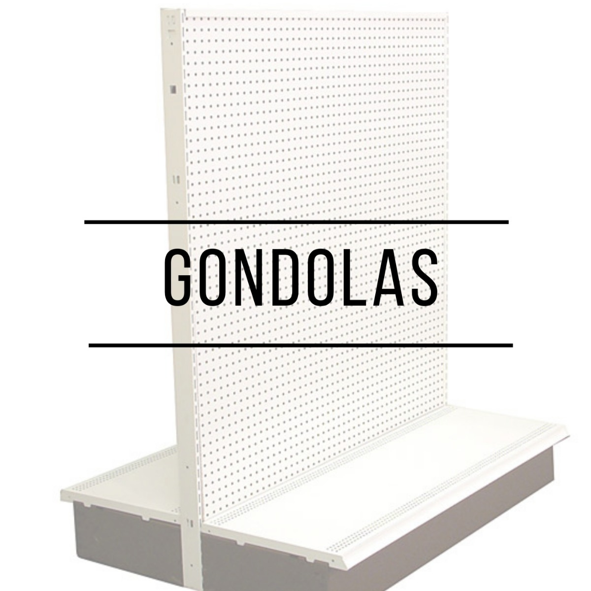 Display items in Hawaii with Gondola Shelving or peg board accessories.