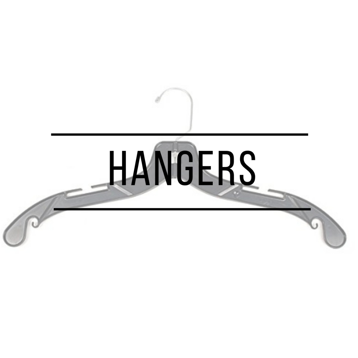 Metal, Plastic, and Wooden Hanger in Hawaii for any apparel.